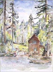 Carol Carlson Painting